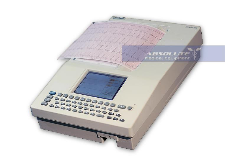 Burdick 850i Interpretive Ekg Machine on eclipse battery